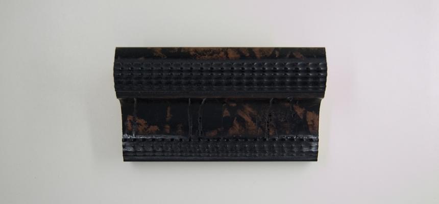 33B Schildpad zwart-bruin structuur